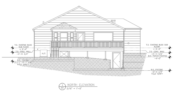 20 years of architectural drafting services by tom alexander for Residential architectural drawings