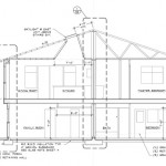 Drafting for a Duplex Row/Town House – Tips for Living in a Narrow Home