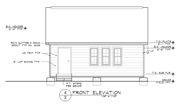 Residential drafting of shed in Washington